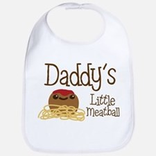 Daddy's Little Meatball Bib