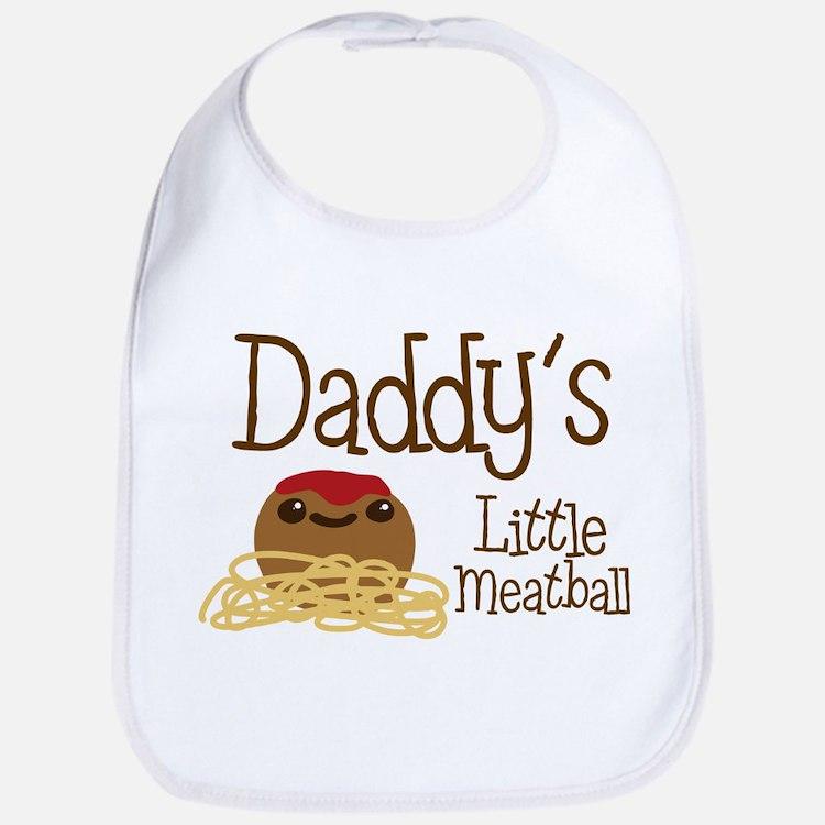 Daddy's Little Meatball Bib