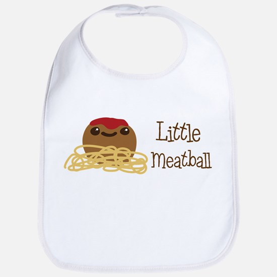 Little Meatball Bib