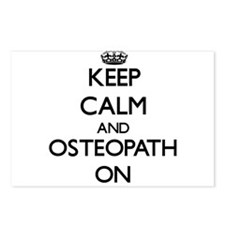 Keep Calm and Osteopath O Postcards (Package of 8)