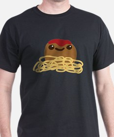 Cute Meatball and Spaghetti T-Shirt