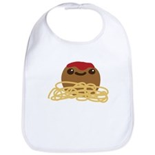 Cute Meatball and Spaghetti Bib