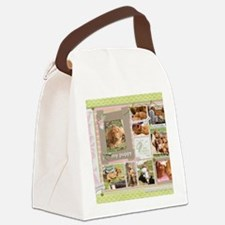 Cute Wirehaired vizsla Canvas Lunch Bag