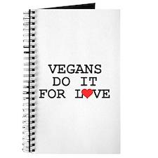 Vegans Do It For Love Journal
