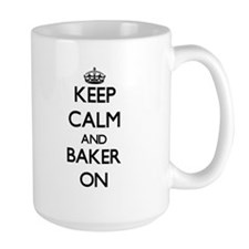 Keep Calm and Baker ON Mugs