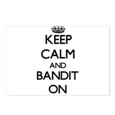 Keep Calm and Bandit ON Postcards (Package of 8)