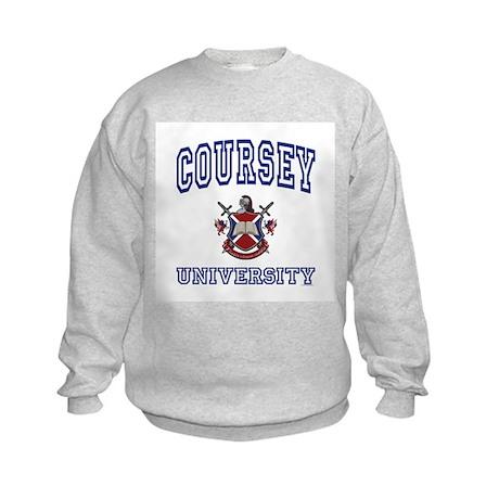 COURSEY University Kids Sweatshirt