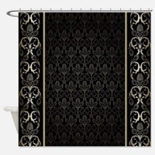 Damask Shower Curtains Damask Fabric Shower Curtain Liner