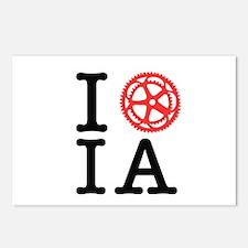 I Bike IA Postcards (Package of 8)