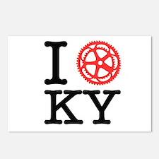 I Bike KY Postcards (Package of 8)