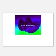 Go Green! Postcards (Package of 8)