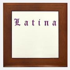 latina Framed Tile