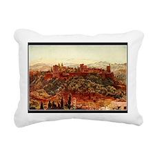 GRANADA ALHAMBRA Rectangular Canvas Pillow