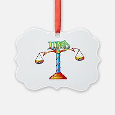 LIBRA SCALES Ornament