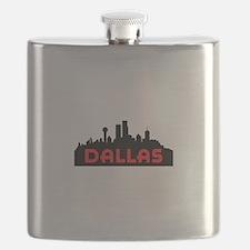 DALLAS TX SKYLINE Flask