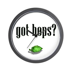 got hops? Wall Clock