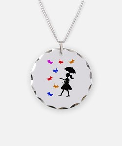RAINING CATS AND DOGS Necklace