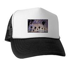 California Skies Sunset Trucker Hat