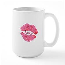 Pink Lips XOXO Mug