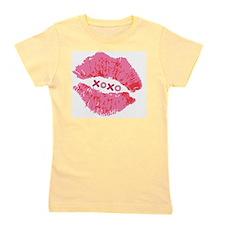 Pink Lips XOXO Girl's Tee