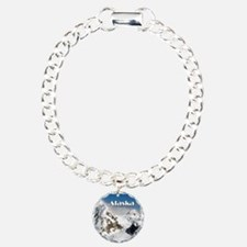 Alaska Range mountains, Charm Bracelet, One Charm