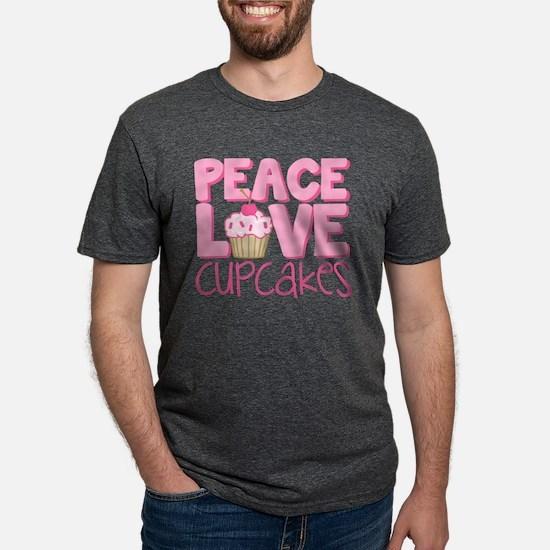 Peace Love Cupcake T-Shirt