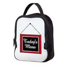 TODAYS MENU Neoprene Lunch Bag