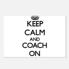 Keep Calm and Coach ON Postcards (Package of 8)