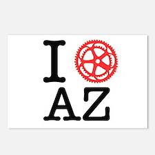 I Bike AZ Postcards (Package of 8)