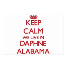Keep calm we live in Daph Postcards (Package of 8)