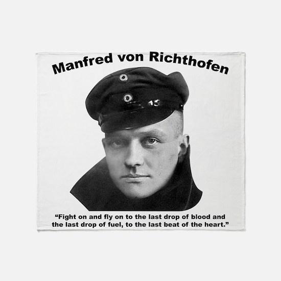 Richthofen: Fight Throw Blanket