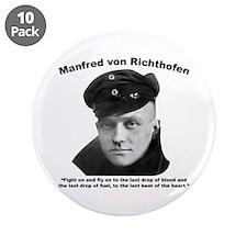"Richthofen: Fight 3.5"" Button (10 pack)"
