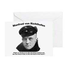Richthofen: Fight Greeting Card