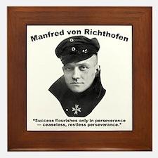 Richthofen: Success Framed Tile