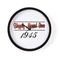 Cool Oneyear Wall Clock