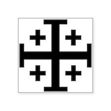 Crusader cross Sticker