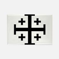 Crusader cross Magnets