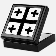Crusader cross Keepsake Box
