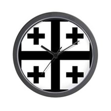 Crusader cross Wall Clock