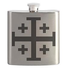 Crusader cross Flask