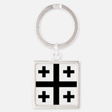 Crusader cross Keychains