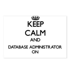 Keep Calm and Database Ad Postcards (Package of 8)