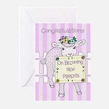 Baby Girl Congratulations Card (pk Greeting Cards