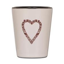 Henna Heart Shot Glass
