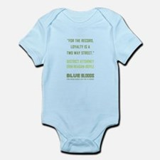 FOR THE RECORD... Infant Bodysuit