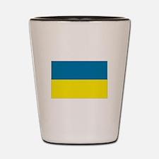 Ukraine flag Shot Glass