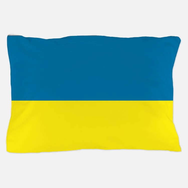 Ukraine flag Pillow Case