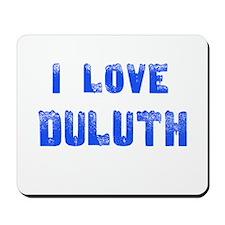 I Love Duluth Mousepad