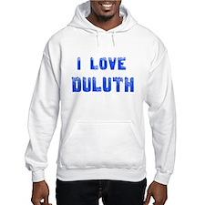 I Love Duluth Hoodie