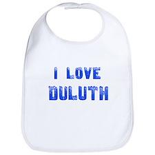 I Love Duluth Bib